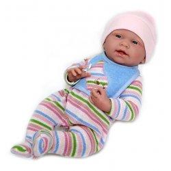 Lalka bobas dziewczynka - Lisa - La newborn