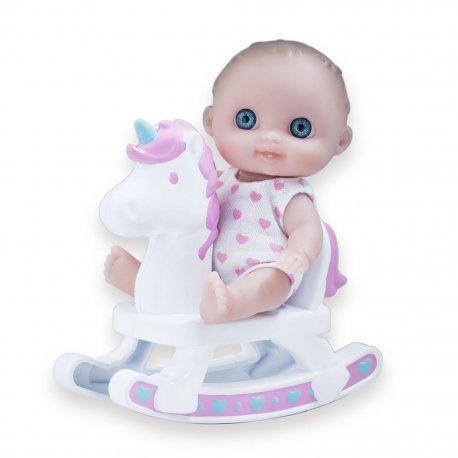 Malutka laleczka na bujaczku - Lil Cutesies