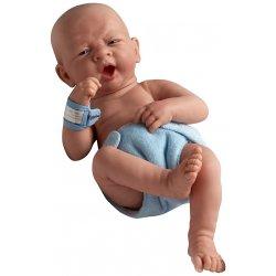 Ziewający noworodek - chłopczyk
