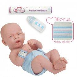 Baby Doll Real Boy - La Newborn 36 cm - in Blue