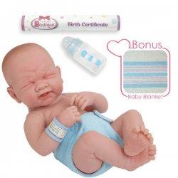 La Newborn -płaczący chłopczyk