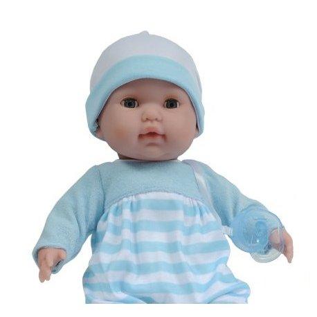 Lalka z miękkim brzuszkiem - zamykane oczka - ref. 30044