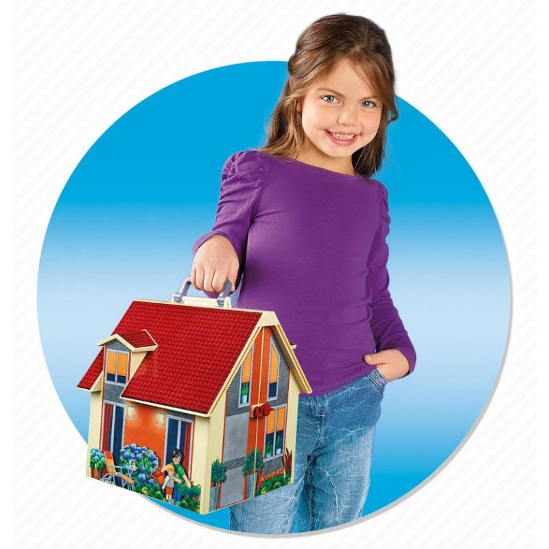 Przenośny domek dla lalek - Playmobil 5167