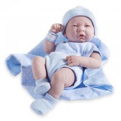 Lalka w kremowym ubranku - La Newborn - baby born