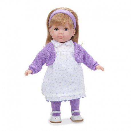 Lalka Dziewczynka w białej sukience - Carla