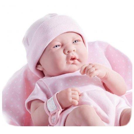 Lalka dziewczynka w różowym ubranku - Berenguer
