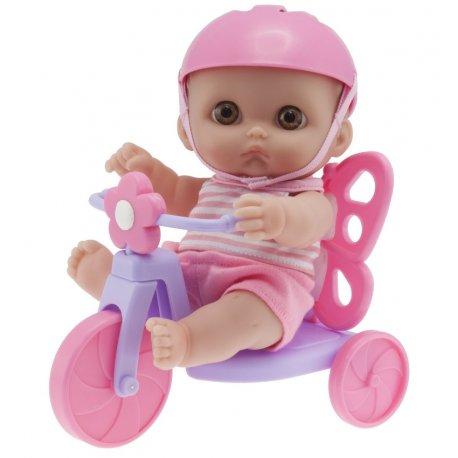 Mała laleczka Mimi na rowerku - Lil Cutesies