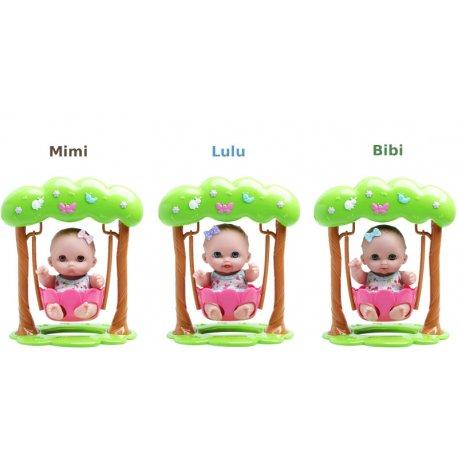 Laleczki Lil Cutesies na huśtawce - dokonaj wyboru!