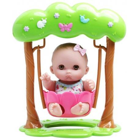 Laleczka Mimi - słodki mały smutasek o brązowych oczach