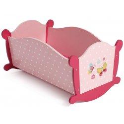 Kołyska dla lalek - Pink Rosa - Bayer Chic 2000