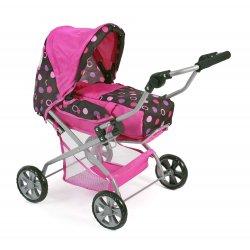 Wózek dla lalki Piccolina - kolor czekoladowy