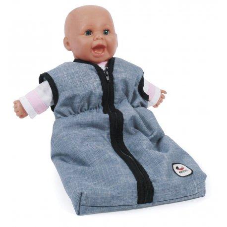 Śpiworek dla lalki - Niebieski Jeans - Bayer Chic 792 50
