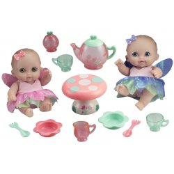 Lil' Cutesies 21 cm All-Vinyl Twin Fairy Tea Gift Set