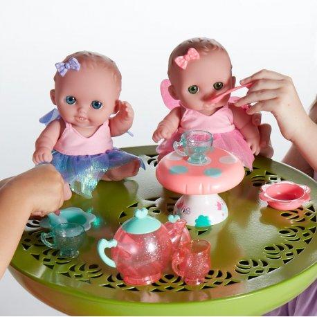 Małe laleczki Lil' Cutesies piją herbatkę - JC Toys 16957