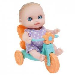 Mała laleczka na rowerku - Mini Lil' Cutesies - JC Toys 16912
