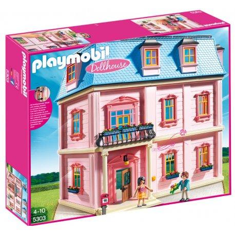 Playmobil 5303 - Duży romantyczny domek dla lalek - Dollhouse