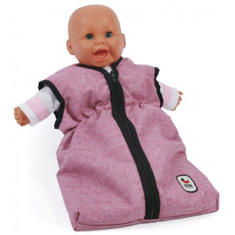 Doll's Sleeping Bag for Baby Dolls - jeans blue - Bayer Chic 2000 792 50