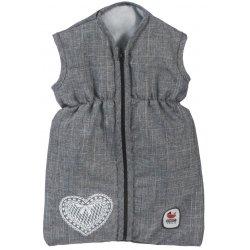 Śpiworek dla lalki- Popielaty Jeans - Bayer Chic 792 76