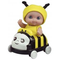 Mała laleczka w samochodzie - Pszczółka - Mini Lil' Cutesies