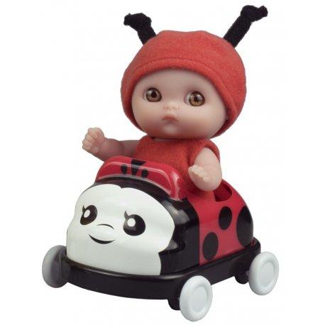 Mała laleczka w samochodzie - Biedronka - Mini Lil' Cutesies