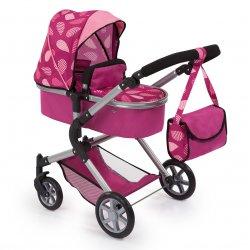 Wielofunkcyjny wózek dla lalki - City Neo Bordeaux
