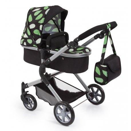 Elegancki wózek dla lalek- City Neo Schwarz