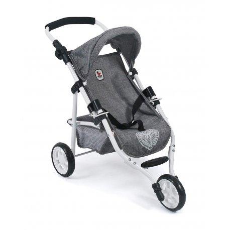 Mały wózek dla lalek - Spacerówka - LOLA