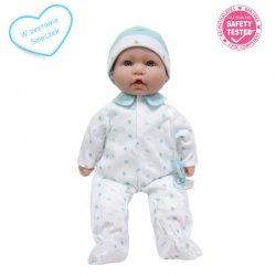 Lalka bobas z miękkim brzuszkiem - La Baby - 40 cm