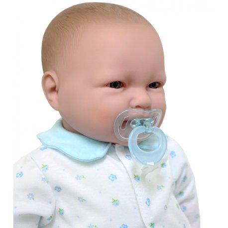 Duża lalka treningowa, do nauki chustowania, do szkół rodzenia - 51 cmatwo ją ubierać.