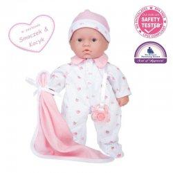 La Baby - Mini Soft Doll - Lalka dla rocznej dziewczynki - 28cm