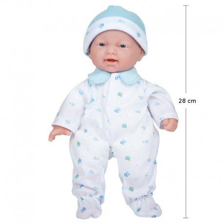 Lalka bobas - La Baby - dla rocznej dziewczynki - jc toys 13111