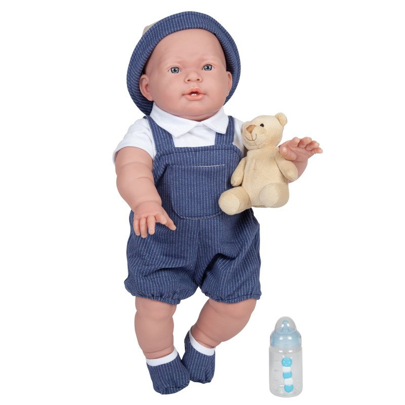 Duża lalka bobas Chłopiec Lucas - Berenguer Boutique ref. 18905