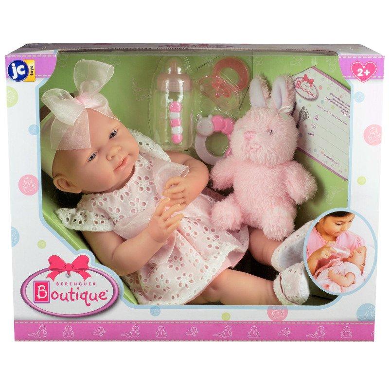Hiszpańskie lalki Berenguer są pakowane w ładne pudełka, idealne na prezent!