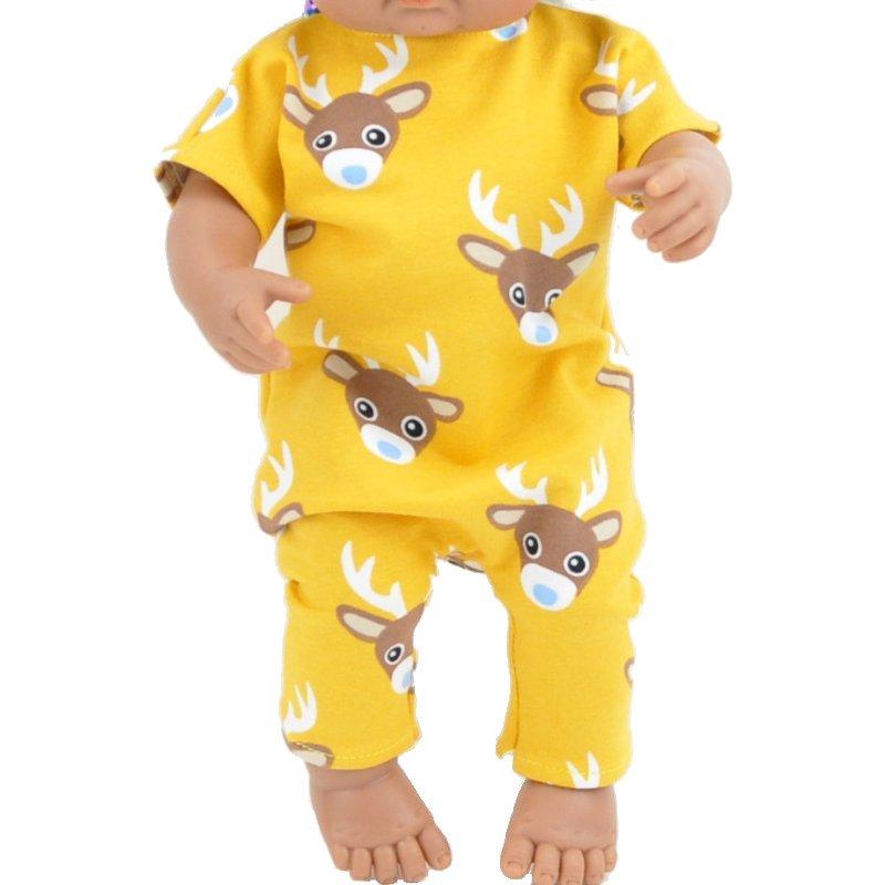 Ubranko dla małej lalki bobas - 25 cm - wzór w Jelonki