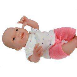 Ubranko dla małej lalki, zestaw w kropeczki