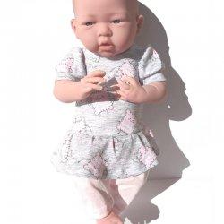 Komplet dla lalki w ciasteczka, na lalki 43 - 46 cm