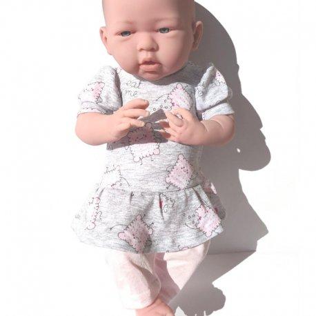 Ubranko dla lalki typu baby born (43 - 46 cm) - Ciasteczka
