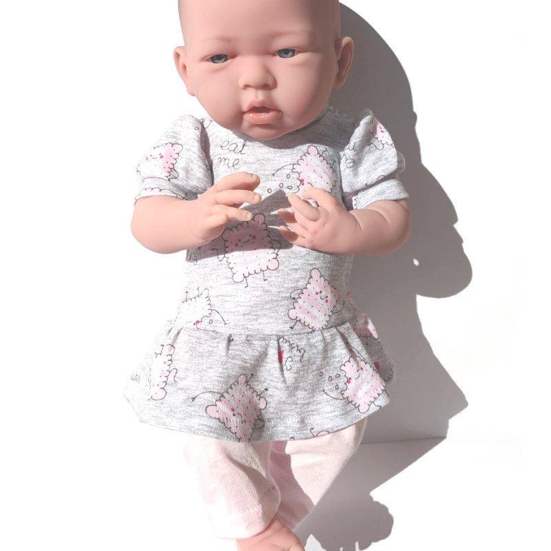 Ubranko dla lalki baby born - 43 - 46 cm - Ciasteczka