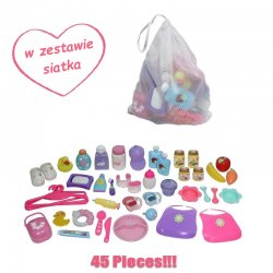 Accessory Back Pack for Dolls 20 Piece - JC Toys