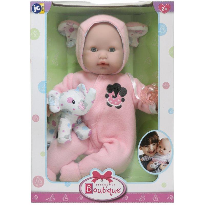 Mięciutka lalka w różowym ubranku - Pudełko na prezent