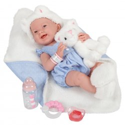 La Newborn Leo Baby Doll Boy