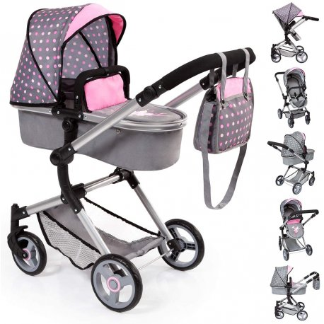 Wózek dla lalek 2w1 - Neo Vario