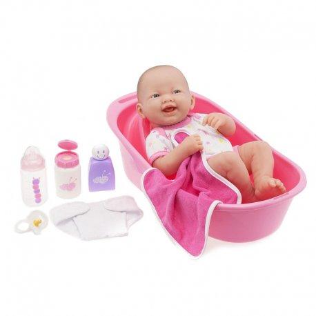 Lalka Bobas do kąpieli - wanienka plus akcesoria