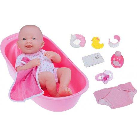 Lalka Bobas - zestaw do kąpieli - JC Toys 18570