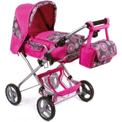 Pushchair for Doll - Bambina Coral - Bayer Chic