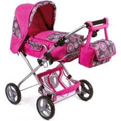 Wózek dla lalki - KOMBI Bambina (Fiolet) - 3 w 1
