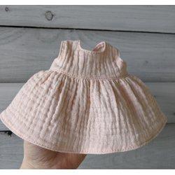Sukienka pudrowy róż, rozmiar S