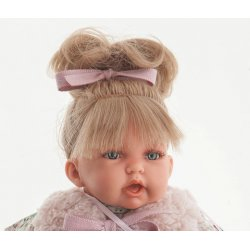 Pitus Mantita Rosa Doll - 26 cm - Antonio Juan - Girl