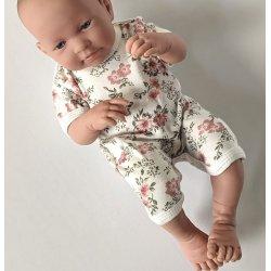 Rampers, ubranko dla lalki bobas 43 - 46cm