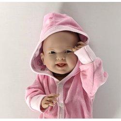 Ubranko dla lalki do 40 cm - Dresik w kolorze różowym